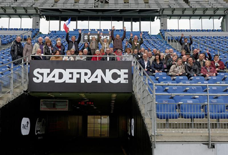 Visite du Stade de France -Saint-Denis -28 mars 2015 - I.D.F.N.