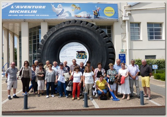 Visite des usines Michelin